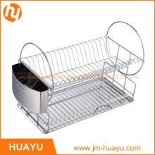 Compre alambrado en Jiangmen Estantería de alambre de cuatro niveles, cromo, Whitmor Supreme Wide Chrome Stacking Basket