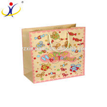 Best service cloth handle shopping velvet paper birthday gift bags wholesale