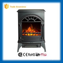 110-120V mini patio freestand electric fireplace stove heater for outdoor