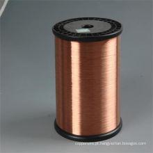 Fio de aço revestido de cobre ASTM padrão CCS como fio de chumbo para eletrônicos