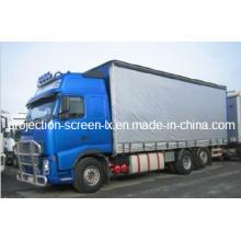 Poliéster Revestido PVC como cobertura de caminhão Tarpaulin