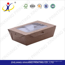 2017 best sale packing cheap paper box with clear lid