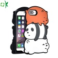 Popular Bear Silicone Mobiele Telefoon Cover Groothandel