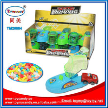 Speeding Driving Mini Car Shoe Toy with Sharpener Candy