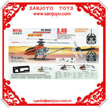 9025-1 ACTUALIZACIONES !! increíble helicóptero juguetes 4ch 2.4G RC con giroscopio