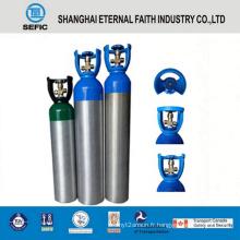 Cylindre de gaz en aluminium à haute pression 11L (LWH184-11-15)