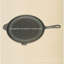Preseasoned Gusseisen Griddle Pan Dia 28cm