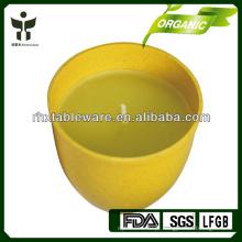 Eco amigável bio fibra vegetal castiçais