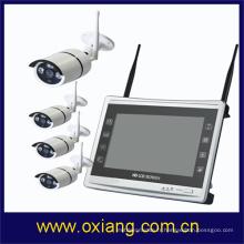 Caméra CCTV sans fil caméra de sécurité extérieure inventions caméra infrarouge WIFI NVR KIT