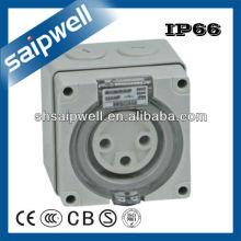 500V 20A Трехфазный 3 Круглый контактный разъем
