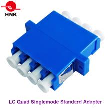 LC Quad Singlemode Padrão Fibra Óptica Adaptador Plástico