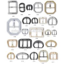 Nouvelle boucle de clip en métal nickel en forme de rectangle pour sac