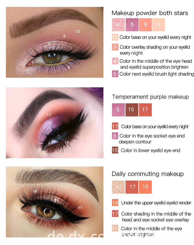 18 Color Eye Shadow 8
