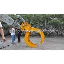 Grappin hydraulique en vrac pour excavatrice