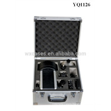 Foshan strong aluminum instrument case with custom foam insert