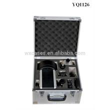Inserir caixa de instrumento de alumínio forte de Foshan com espuma personalizado