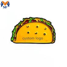 Metal Customized Logo Taco Emoji Enamel Pin