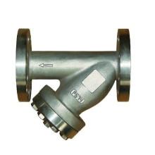 Нержавеющая сталь фланцевый Y-образный фильтр Pn16