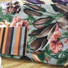 2016 Nuevo tejido de impresión de flores