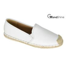 Women′s PU Casual Espadrille Flat Shoes