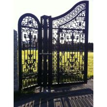Роскошные железные ворота для виллы