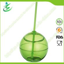 500 Ml sin BPA como Copa de paja de forma de bola (TB-A5)