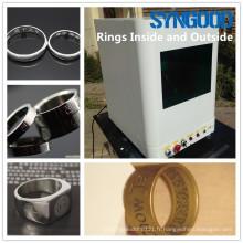 Machine de marquage de fibre Syngood SG10F / 20F / 30F pour étiquette de chien photo gravée