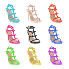 Neue Design High Heel Straps Lady Dress Sandalen (S09)