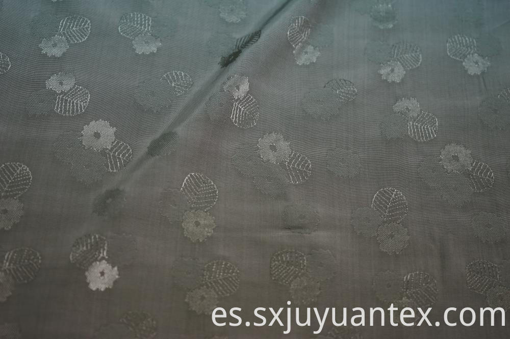 Viscose Flower Jacquard Fabric