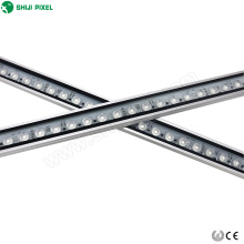 venta al por mayor impermeable al aire libre decoración 48 leds dmx rgb arandela de pared luces led 24 w