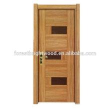 La moda diseña la puerta de madera del estilo de la melamina interior