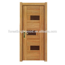 Fashion Designs Interior Melamine Stile Wooden Door