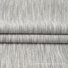 Melange Space Dyed Viscose Double Knit Jacquard Fabric