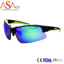 Мужская мода дизайнер UV400 защиты ПК спортивные солнцезащитные очки (14367)