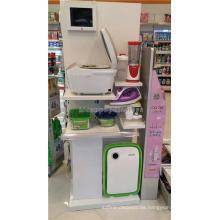 Merchandising Holz zusammenklappbare Home Appliance Display Regale für Stores, Lcd Küche Display Regale