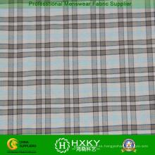 Patrón de cuadros con hilo de Nylon teñido de tela de camisa Men′s