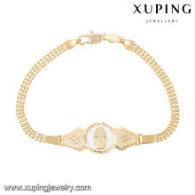 74594-Xuping New Gold 18k Bracelet Jewelry Design For Girls