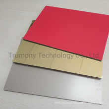 Gold Mirro Finished Fireproofing Aluminium Composite Panel