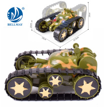 New Product High Qulity Space Rover RC Deformation Tank Car Toy