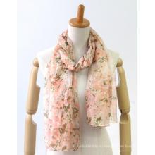 подгонянный тонкий удобный покрашенный пряжей шарф дам