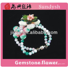 china hot pure charms crystal girls beads fashionable unique wholesale new trendy colombian handmade bracelets with stone