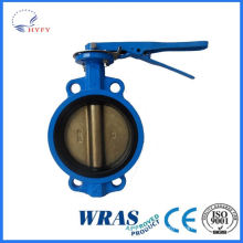 From professional manufacture manual ss304/316l butterfly valve