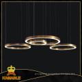 Haing Ring Stainless Steel LED Pendant Lamp (KAF6050)