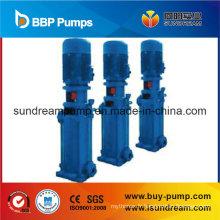 Pompe à eau centrifuge verticale à plusieurs étages à haute pression sanitaire