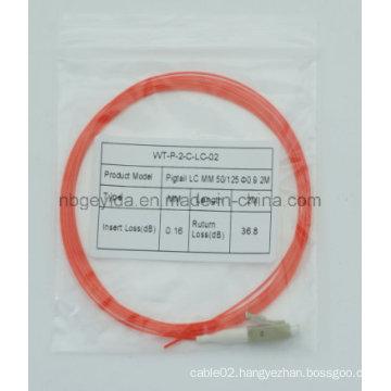 0.9 LC Mm Fiber Optic Pigtail