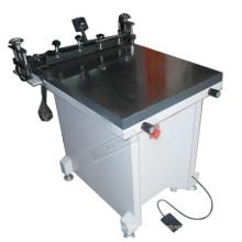 Máquina de impresión de pantalla plana de cristal Manual TM-6080
