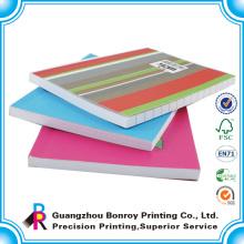 Tipos de impresión de cuadernos de papel baratos al por mayor de la escuela