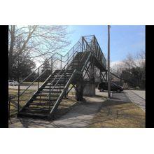 Large Prefab Steel Structure Pedestrian Overcrossing Bridge