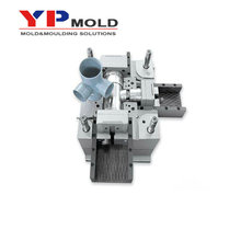 injected professional pipe PA66 plastic injection mould