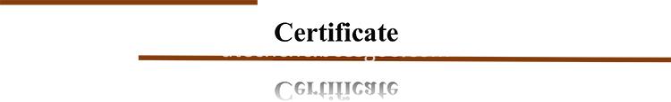 C Title Certificate 750